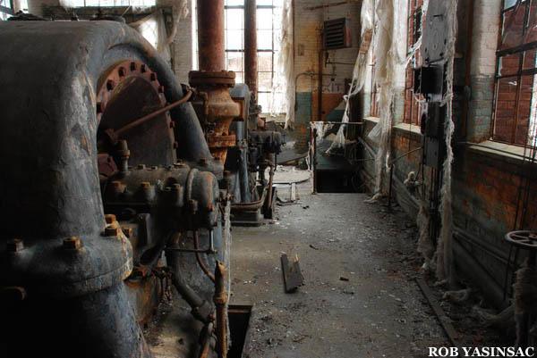 Hvr Mohawk Mills Power Plant Amsterdam Ny By Rob Yasinsac