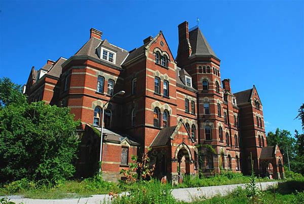 Hvr Hudson River State Hospital Main Building
